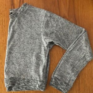 Light gray cropped Brandy Melville sweater